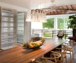 Villa Ross: Dining room