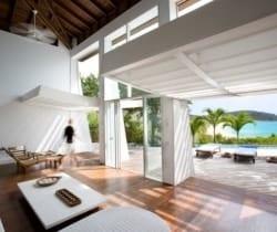 Villa Ross: Living room