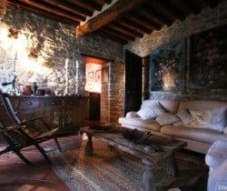 Villa Chiana: Living room