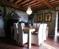 Villa Chiana: Dining room