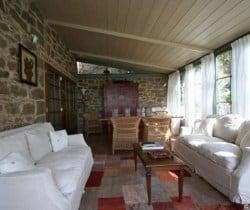 Villa Chiana: Veranda