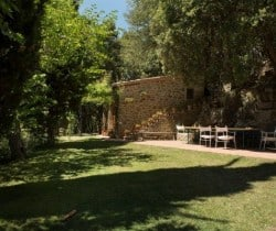 Villa Chiana: Al fresco dining area