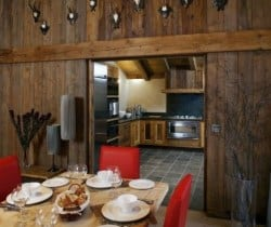 Chalet Forest - Chalet Igloo: Dining room