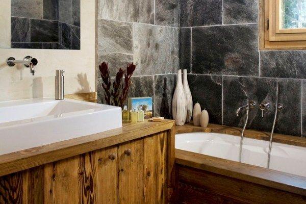 Chalet Glacier: Bathroom