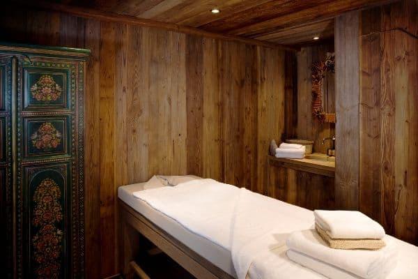 Chalet Glacier: Massage room