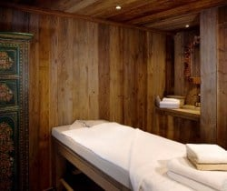 Chalet Glacier: Massage room