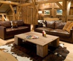Chalet Igloo: Living room