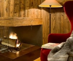 Chalet Igloo: Fireplace