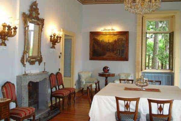 Villa Laura: Dining area