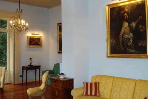 Villa Laura: Living area