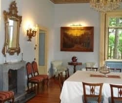 Villa Laura: Dining area