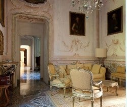 Villa Napoleone: Living room