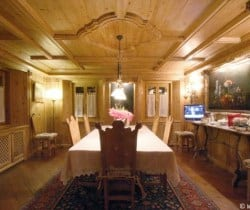 Chalet Rouge: Dining room