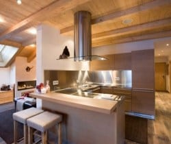 Chalet Bambi: Kitchen