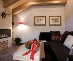 Chalet Bambi: Fireplace
