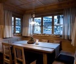 Chalet Bambi: Dining room