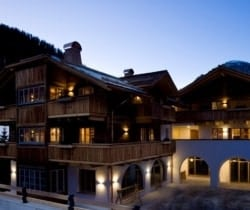 Chalet Bambi: Night view