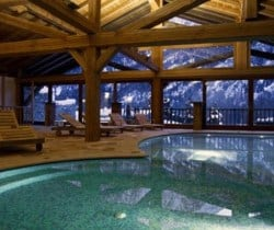 Chalet Apartment Abete: Resort swimming pool