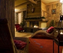 Chalet Acero: Relaxation room