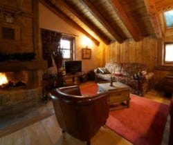 Chalet Cedro: Living area