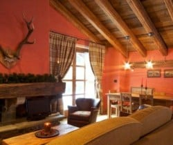 Chalet Gelsomino: Dining area