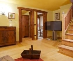 Chalet Olmo: Small sitting room