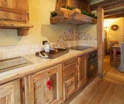 Chalet Rovere: Kitchen