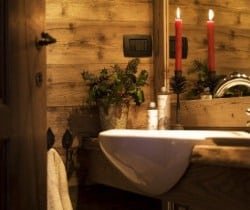 Chalet Rovere: Bathroom