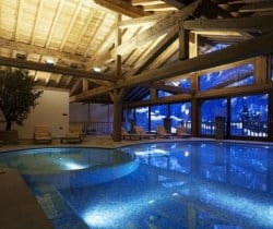 Chalet Apartment Sorbo: Resort swimming pool