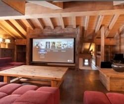Chalet Anna: TV area