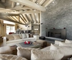 Chalet Axel: Living area
