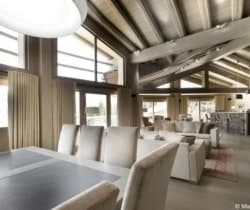 Chalet Axel: Dining area