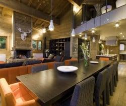Chalet Elegance: Dining area