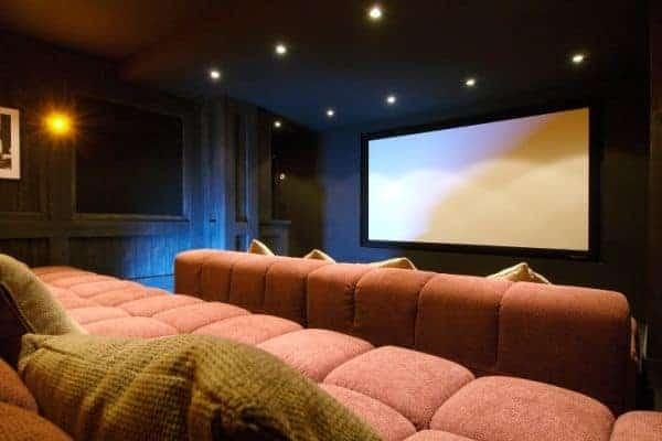 Chalet Emerald: Cinema room