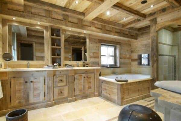 Chalet Emerald: Bathroom