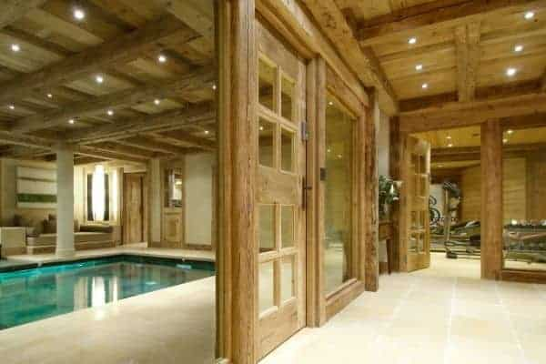 Chalet Emerald: Fitness room