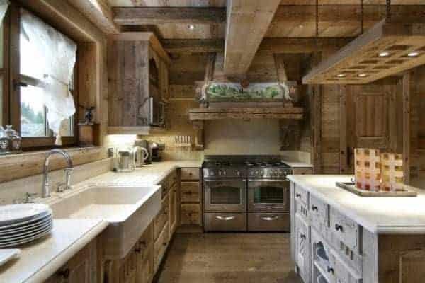 Chalet Emerald: Kitchen
