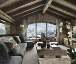 Chalet Emerald: Living area