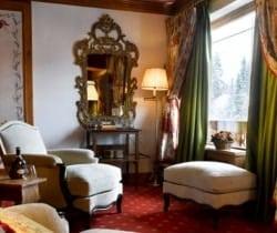 Penthouse Gema: Living area
