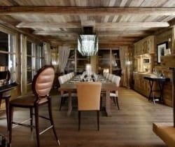 Chalet Grande Dame: Dining room
