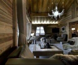 Chalet Grande Dame: Living room