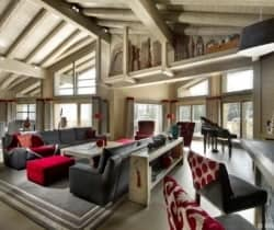 Chalet Miree: Living area