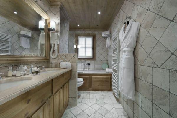 Chalet Montara: Bathroom