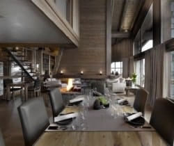 Chalet Montara: Dining area