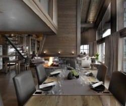 Chalet Montara: Dining area