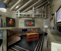 Chalet Polran: TV area