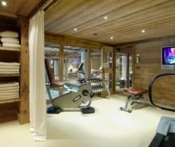 Chalet Smara: Fitness room