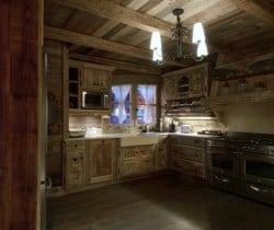 Chalet Smara: Kitchen