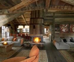 Chalet Smara: Living area