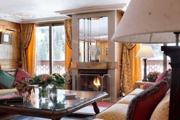 Chalet Apartment Summit I: Fireplace